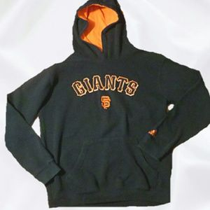 Adidas SF Giants hoodie Size M authentic vtg